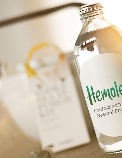 logo-design-hemolee-white-label-bottle